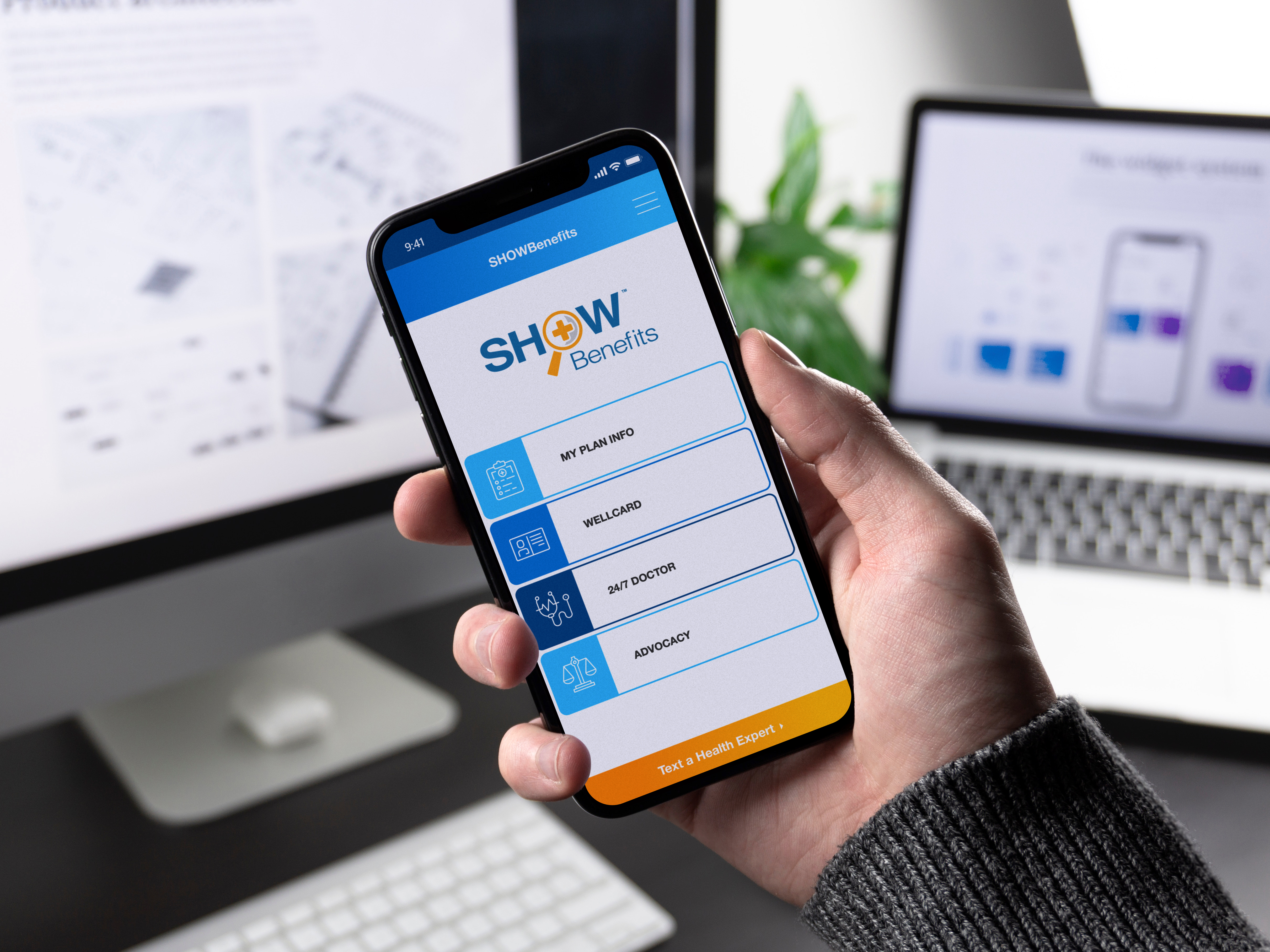 SHOWBenefits Mobile App